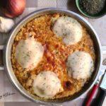plat de poulet mozzarella et crème épaisse dorée