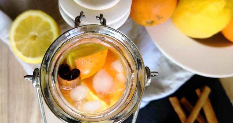 Eau Détox Citron Curcuma Cannelle