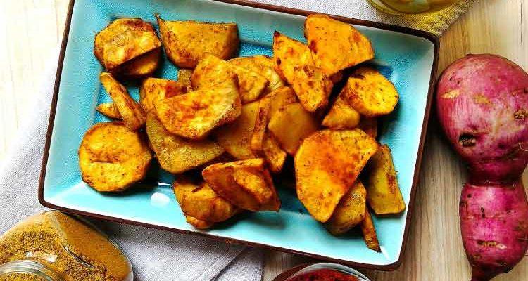 Patates Douces Rôties aux Épices