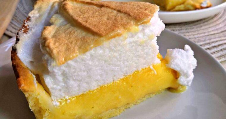 Tarte au Citron Meringuée, une recette exceptionnelle !