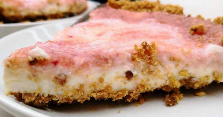 Tarte à la Pêche façon Cheesecake