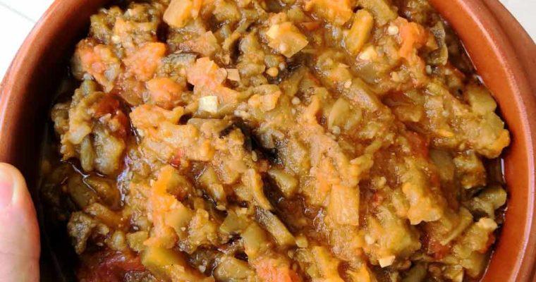 Zaalouk, The Moroccan Eggplant Caviar