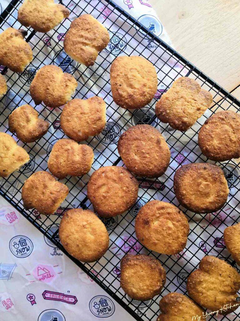 biscuits aux amandes et beurre