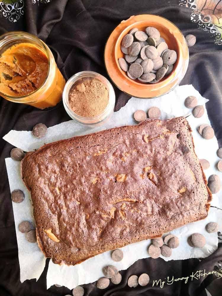 Recette brownie au chocolat et beurre de cacahuètes
