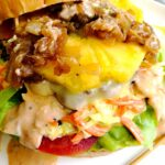 incroyable burger ananas