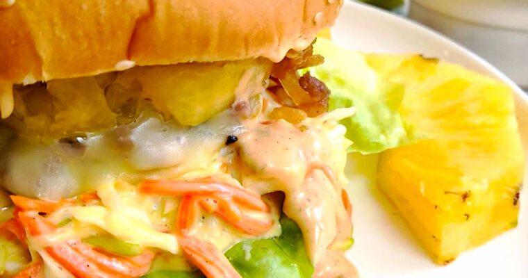 Suprême Burger Coleslaw, Ananas !