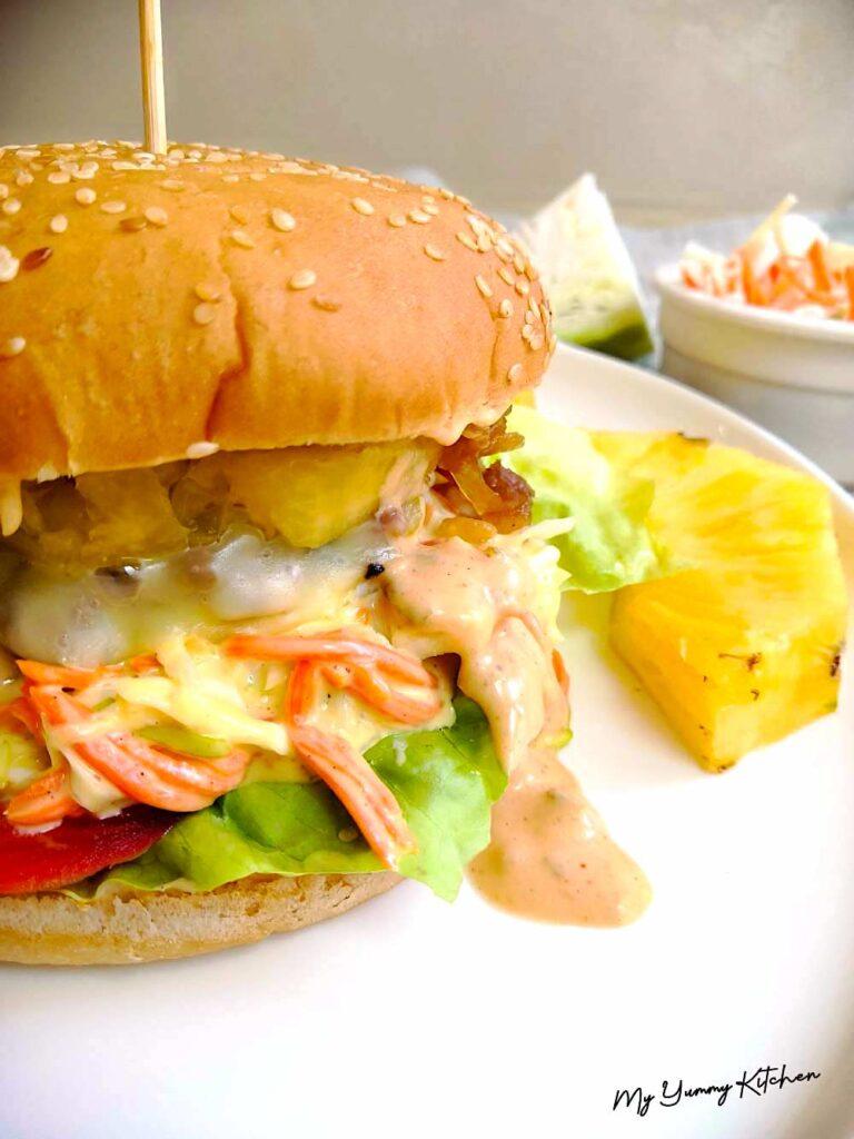 burger sauce parfait