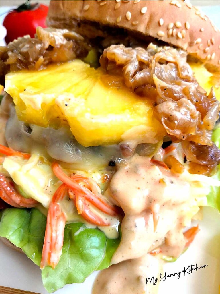 burger ultra fondant ananas