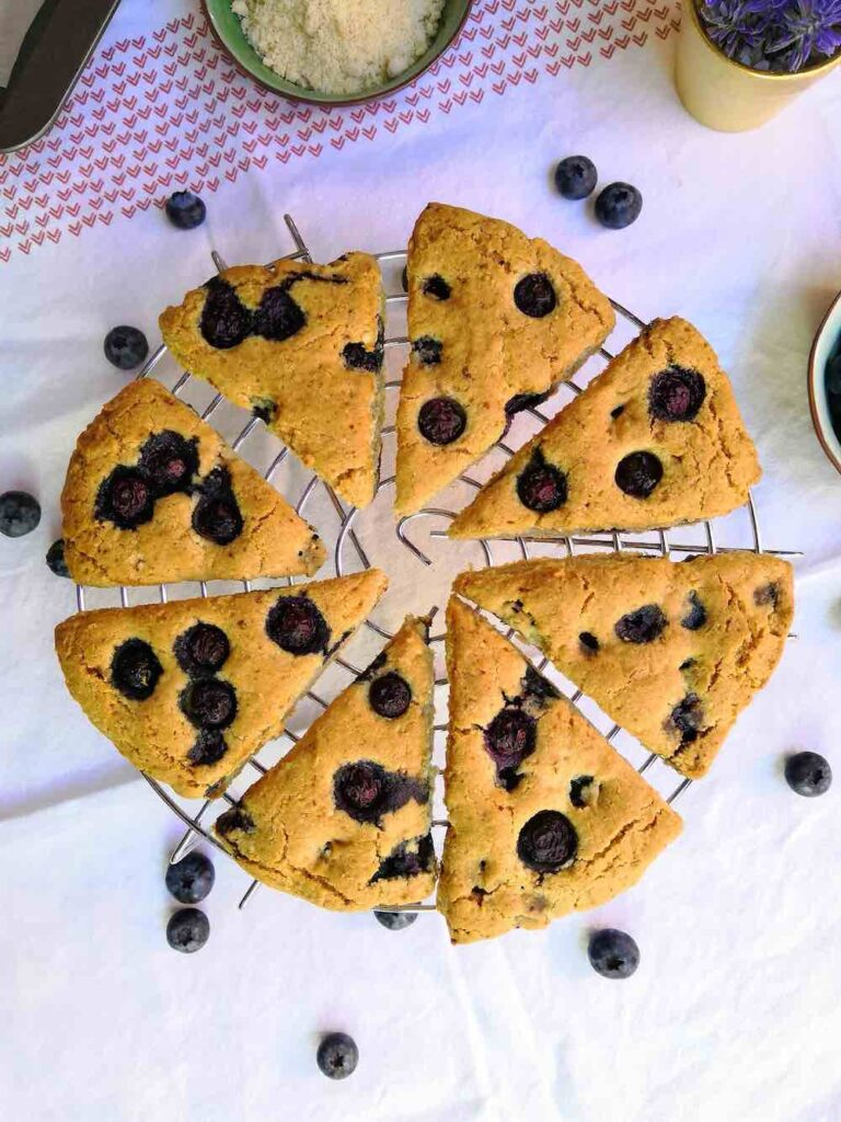 scones faibles en glucides